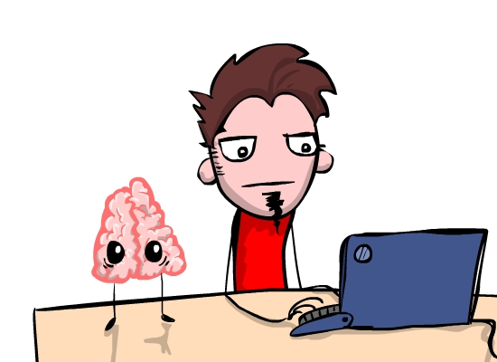 The Awesomesausage: Zimp VS. Brain